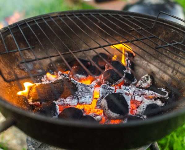 Park fires fear sparks BBQ warning