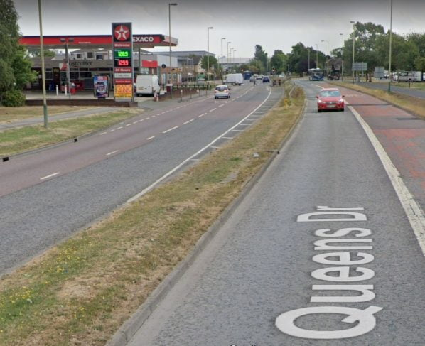 Two arrested after incident involving metal poles at Swindon petrol station