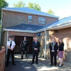 Officers gain entry into transformed Wootton Bassett police station