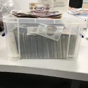 Cash and drugs seized after routine police patrol stops car in Swindon